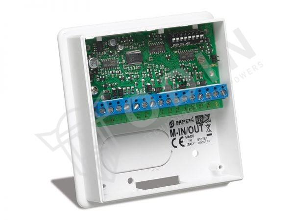 Bentel M-IN/OUT Modulo espansione con 6 terminali ingresso/uscita programmabili