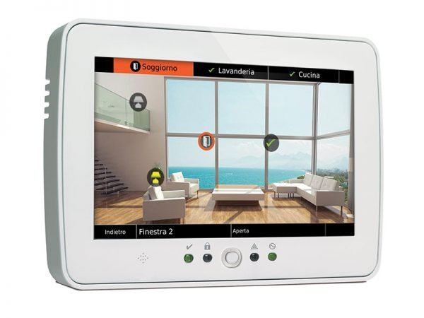Bentel M-TOUCH Absoluta Tastiera Touch screen per centrali di allarme