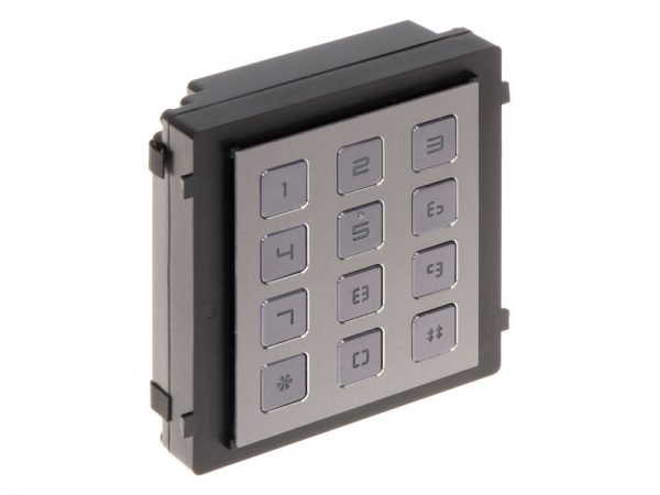 Hikvision DS-KD-KP Tastiera per esterno modulare per videocitofoni