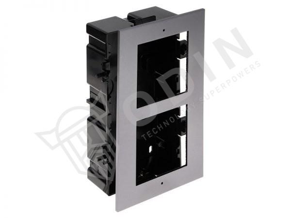 Hikvision DS-KD-ACF2 cornice videocitofono da incasso per 2 posti esterni modulari