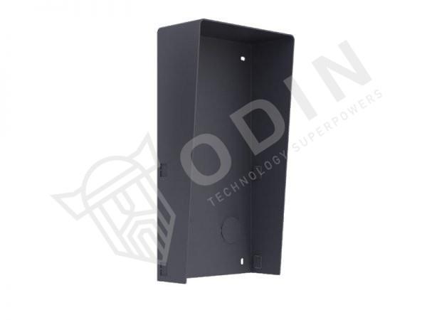 Hikvision DS-KABD8003-RS2 Tettuccio in metallo per 2 moduli