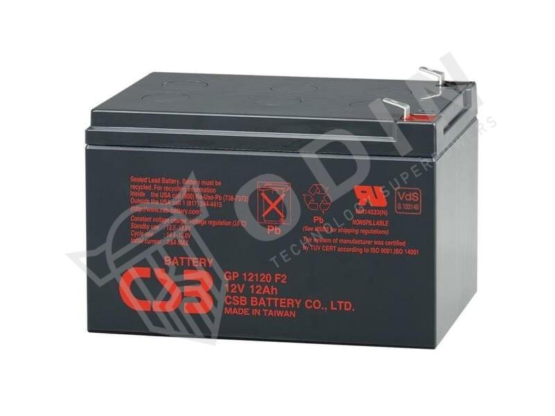 CSB GP12120 Batteria al piombo 12V 12 Ah