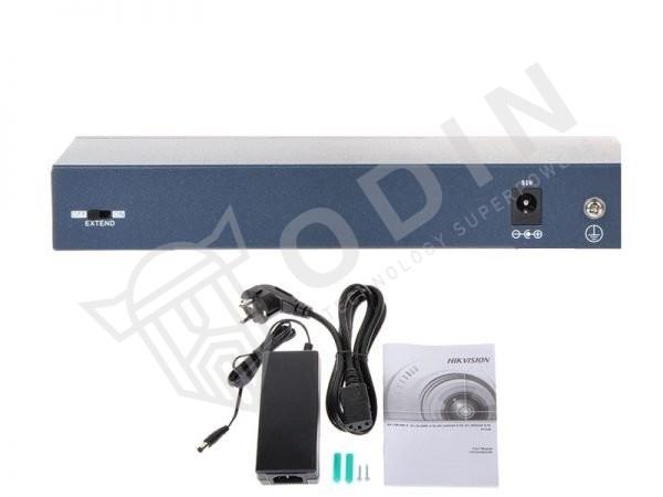 Hikvision DS-3E0109P-E/M Switch PoE 9 Porte 10/100Mbps