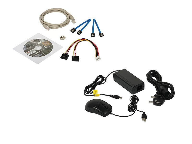 HIKVISION DS-7608NI-K2/8P Nvr 8 ingressi PoE per telecamere fino a 8 Mpx 80 Mbps