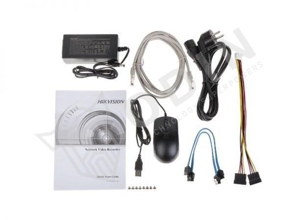 HIKVISION DS-7608NXI-I2/4S Nvr 8 ingressi Acusense per telecamere fino a 12 Mpx 80 Mbps