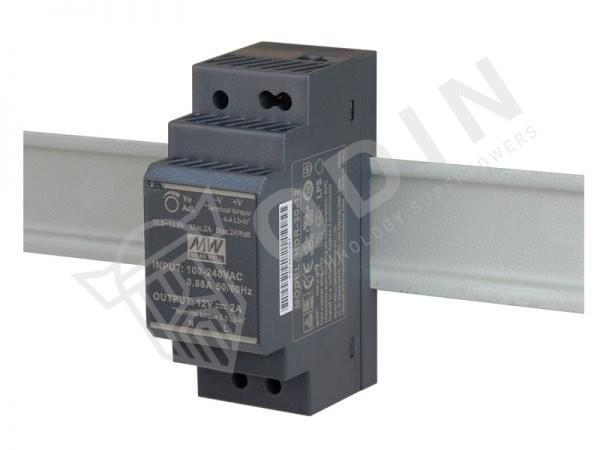 Meanwell HDR-30-12 Alimentatore su guida din 12V 2Ah 30W