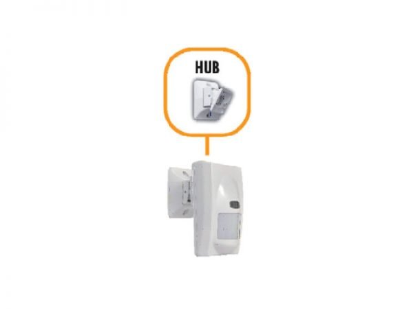 HUB EEA Snodo bivalente per installazione a parete per zefiro/akab