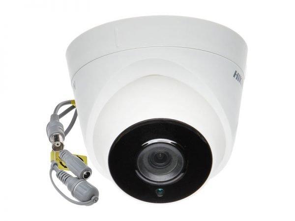 HIKVISION DS-2CE56H0T-IT3F Telecamera dome ottica 2,8 mm 5 Mpx con IR fino a 40 mt
