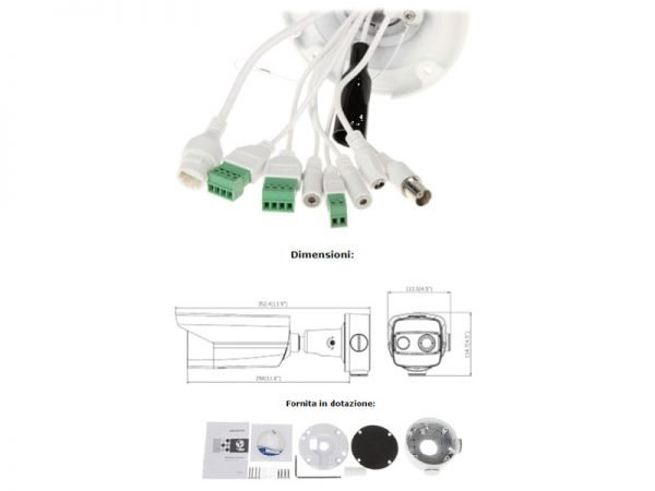 Hikvision DS-2TD2617-6/V1 Telecamera termica bullet Bi-Spectrum (termica 6 mm e normale 4 mm)