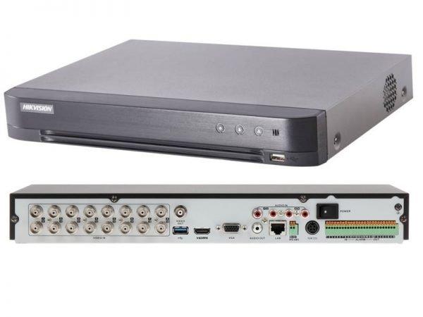 HIKVISION DS-7216HUHI-K2 DVR turbo HD 16 Canali per cam fino a 5 Megapixel