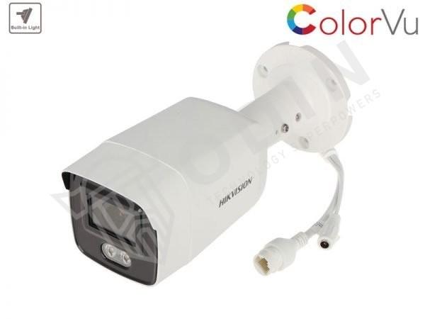 Hikvision DS-2CD2047G1-L Telecamera ColorVu bullet Ip 4 Mpx ottica 2,8 mm