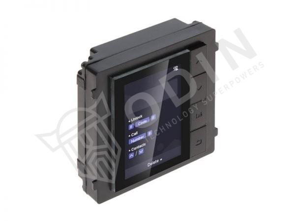 Hikvision DS-KD-DIS Modulo display videocitofono per chiamata interna contatti