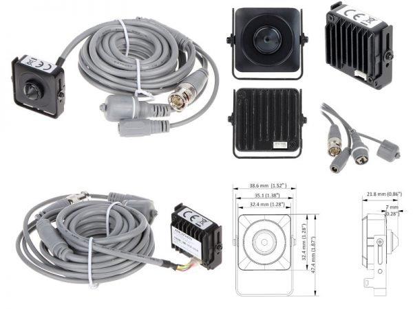 Hikvision DS-2CS54D8T-PH telecamera occultabile 2 Megapixel per interno