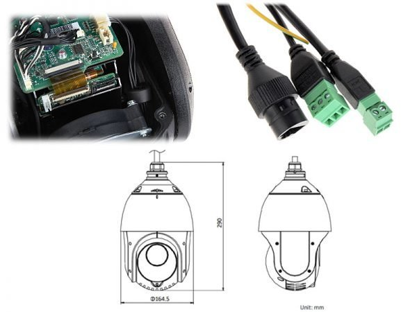 Hikvision DS-2DE4225IW-DE Speed dome 2 megapixel 4