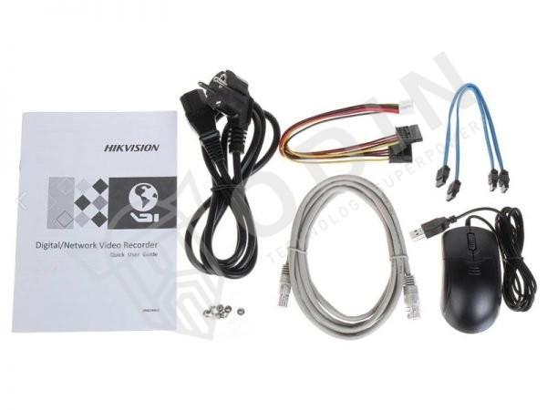 HIKVISION DS-7616NI-K2/16P Nvr 16 ingressi PoE per telecamere fino a 8 Mpx 160 Mbps