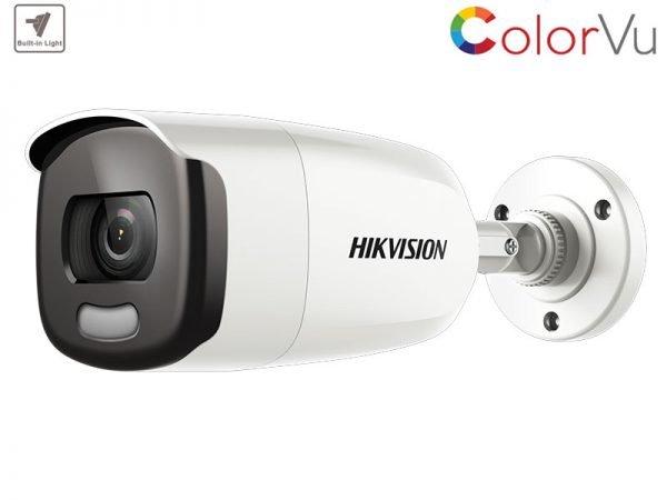 HIKVISION DS-2CE12DFT-F Telecamera Colorvu bullet 2 Mpx ottica 2,8 mm con IR fino a 40 mt