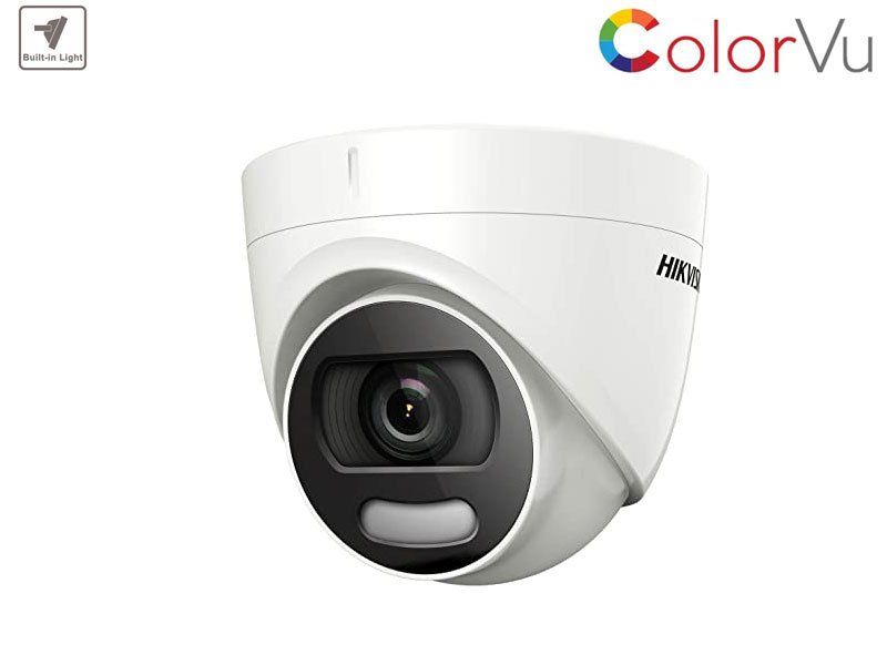 HIKVISION DS-2CE72DFT-F Telecamera Colorvu dome 2 Mpx ottica 2,8 mm con IR fino a 20 mt