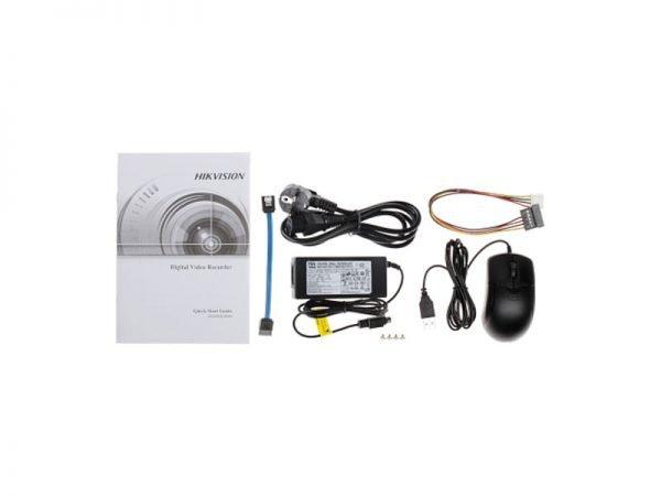 HIKVISION DS-7208HUHI-K1 Dvr Turbo HD 8 ingressi per telecamere fino a 5 Mpx