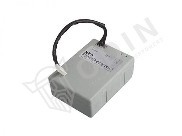Nice PS124 batteria tampone per automazioni gruppo alimentazione di soccorso