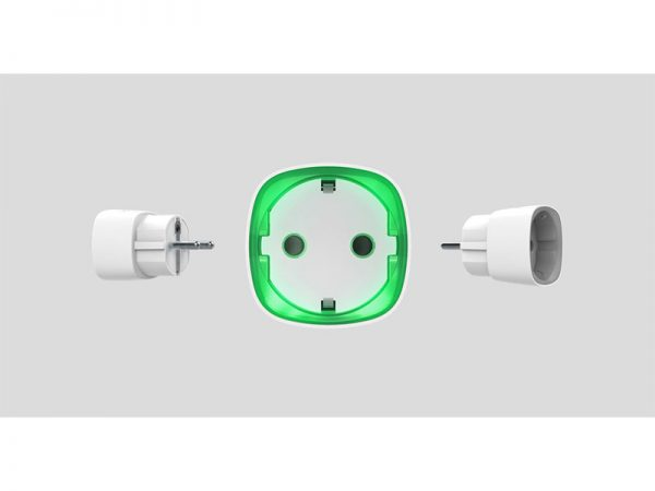 AJAX SOCKET-W Presa intelligente wireless smart con monitoraggio consumo energetico