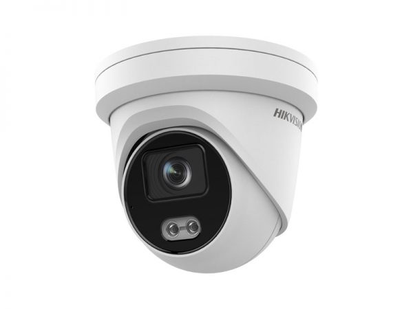 Hikvision DS-2CD2347G2-L Telecamera ColorVu mini dome Ip 4 Mpx ottica 2,8 mm