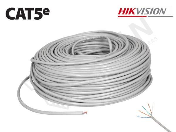Hikvision DS-1LN5E-S Cavo UTP Cat5e per interno in RAME 100 mt