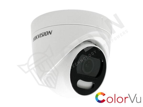 HIKVISION DS-2CE72HFT-F Telecamera Colorvu mini dome 5 Mpx ottica 2,8 mm